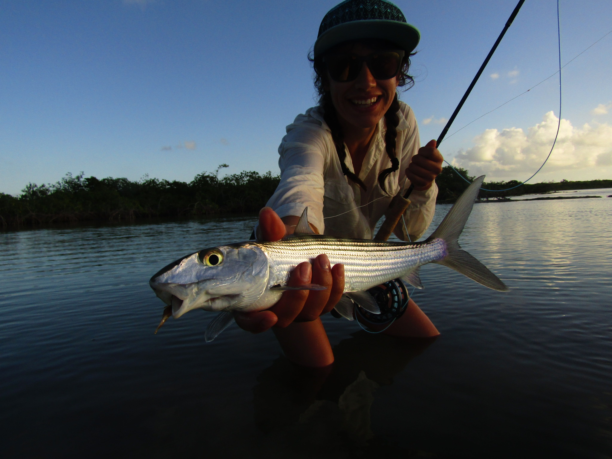 Saltwater Fly Fishing Xcalak Mexico